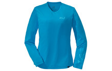 Jack Wolfskin Trail Longsleeve Women atlas blue
